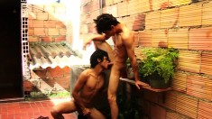Gorgeous young Latinos Emerson and Saul have an exciting gay affair