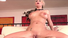Bodacious blonde cougar Phoenix Marie is addicted to hardcore anal sex