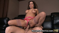 Francesca Le turns into a totally different person when she is fucked