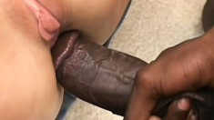 Milf Harley gets a round robin of fucking by four hard pussy hunting cocks