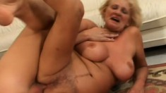 This stacked granny is still hot and definitely up to it all the time