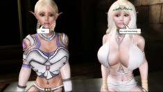 Busty 3d bitches get wild and freaky in this hardcore animation