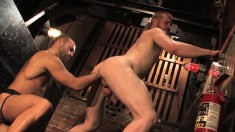 Two Wonderful Gay Lovers Take Turns Fisting Each Other's Hungry Asses