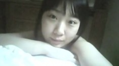 Horny Asian teen POV blowjob
