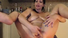 Squirting Webcam Masturbation