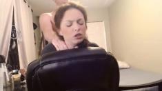 Redhead slut Farrah Rae getting a doggystyle fuck