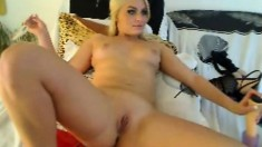 Super small ass and pussy masturbate