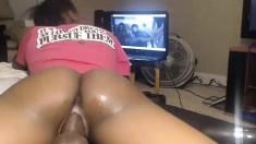 Big Ass Ebony Nailed By A Black Dick