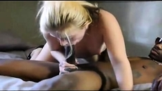 Two Black Cocks For This Small Milf Pussy Blackout Pictures