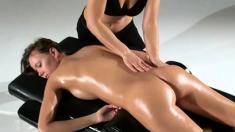 All Girl Massage Jeniffer White Lesbian Massage
