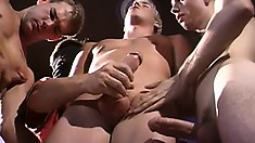 Wild and naughty frat boys love getting into a gay fuck fest