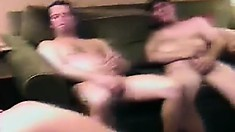 Amateur guys gather on the down low to share their love of cock
