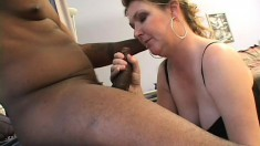Horny young Jules can't get enough of this black cock up her sphincter